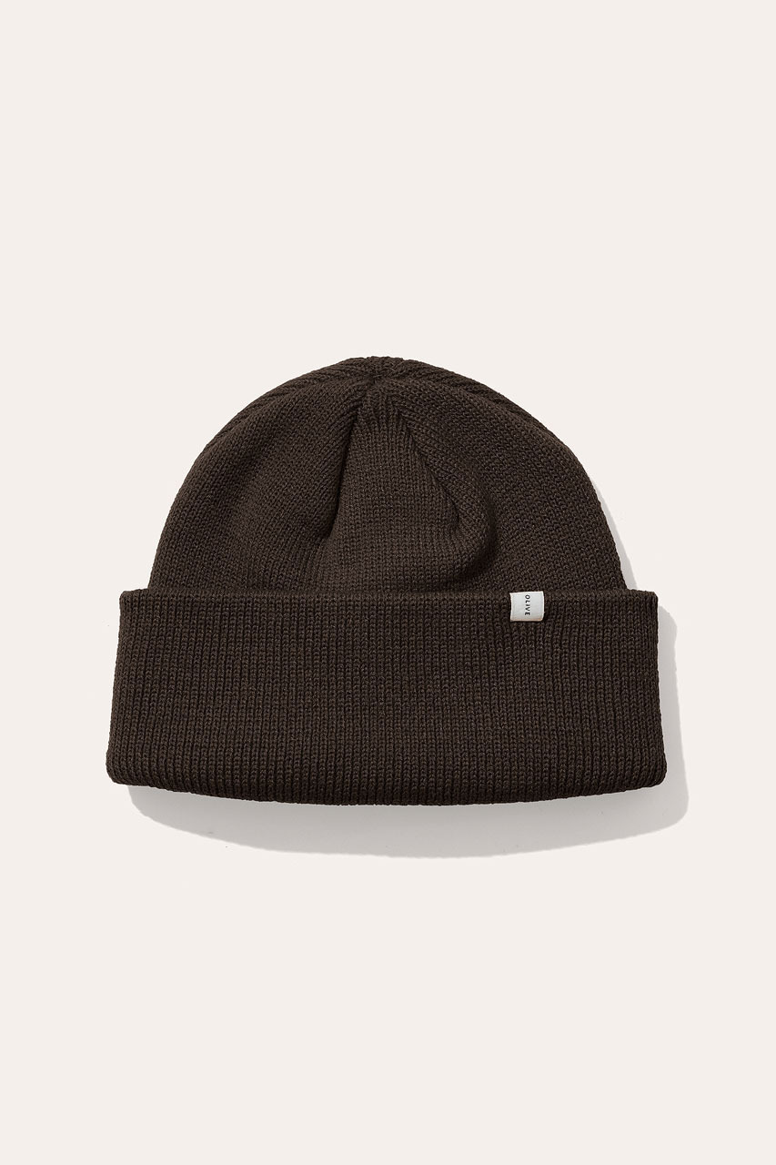 Menswear | Simple Beanie, Khaki