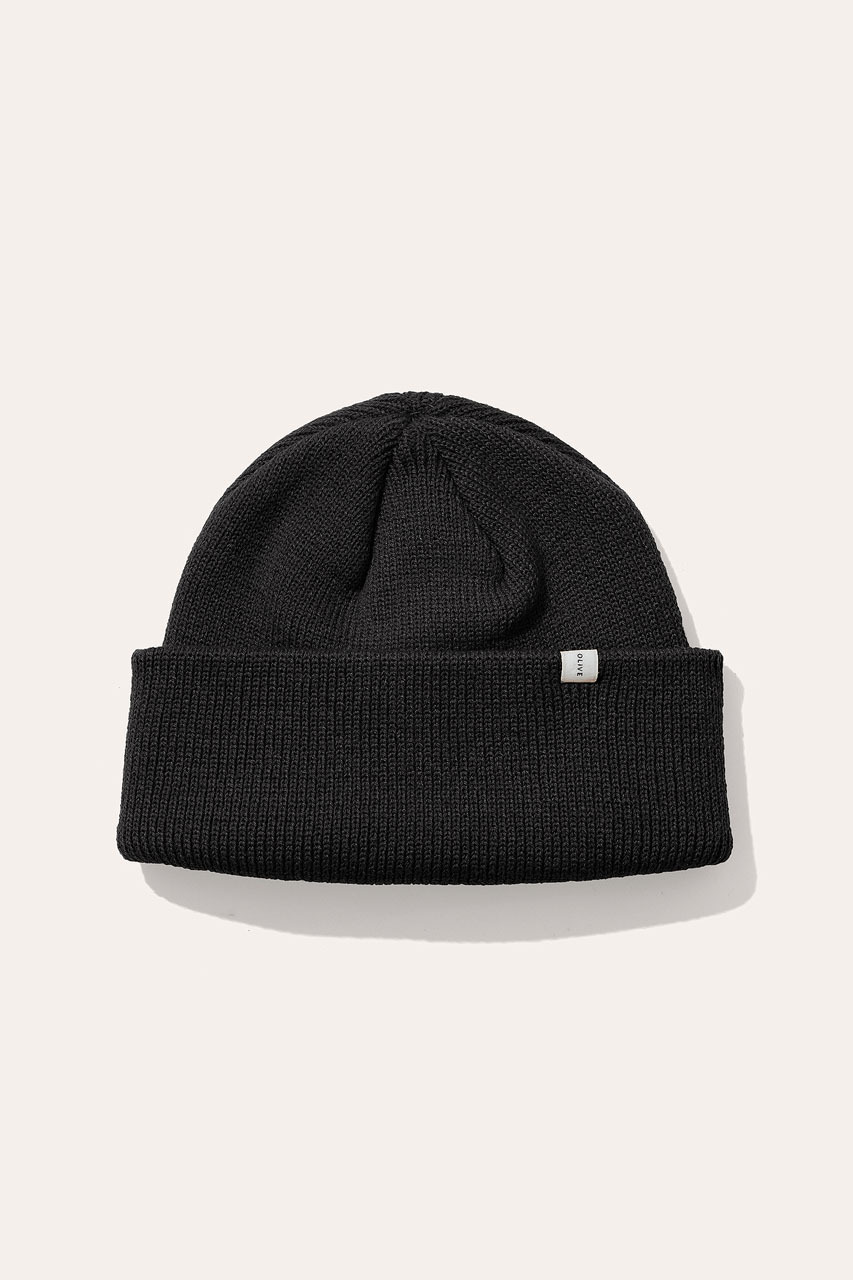 Menswear | Simple Beanie, Black