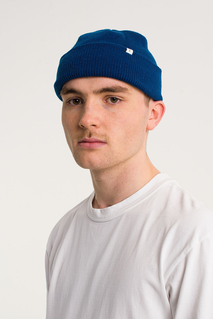Menswear | Simple Beanie, Royal Blue