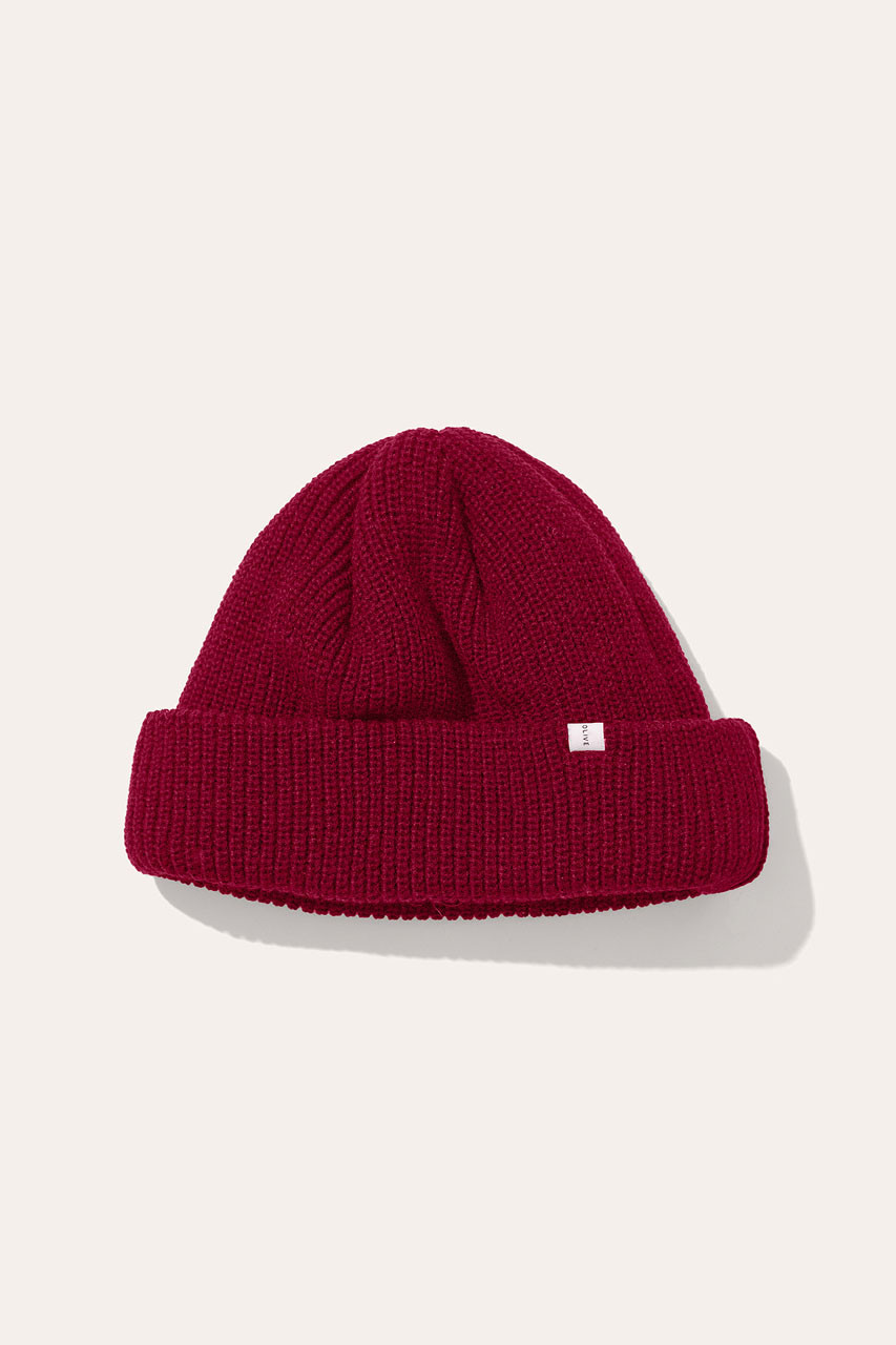 Menswear | Fisherman Beanie, Cherry
