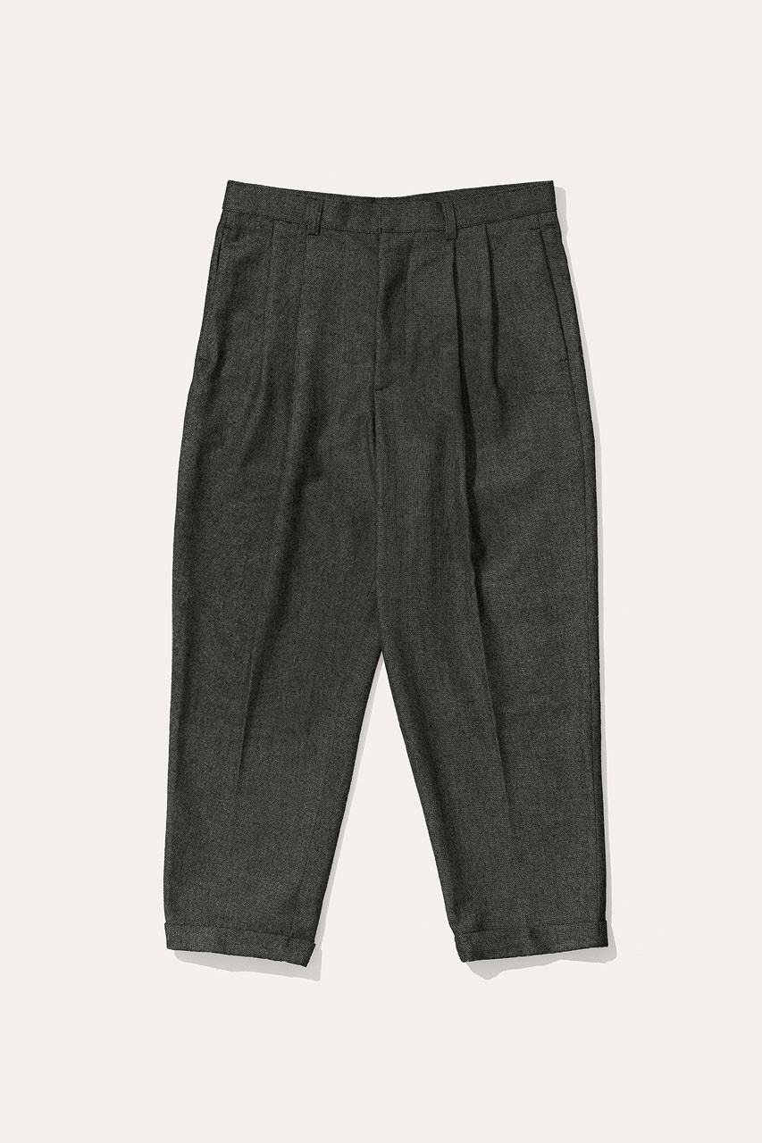 Menswear | Volk Wool Trousers, Forest