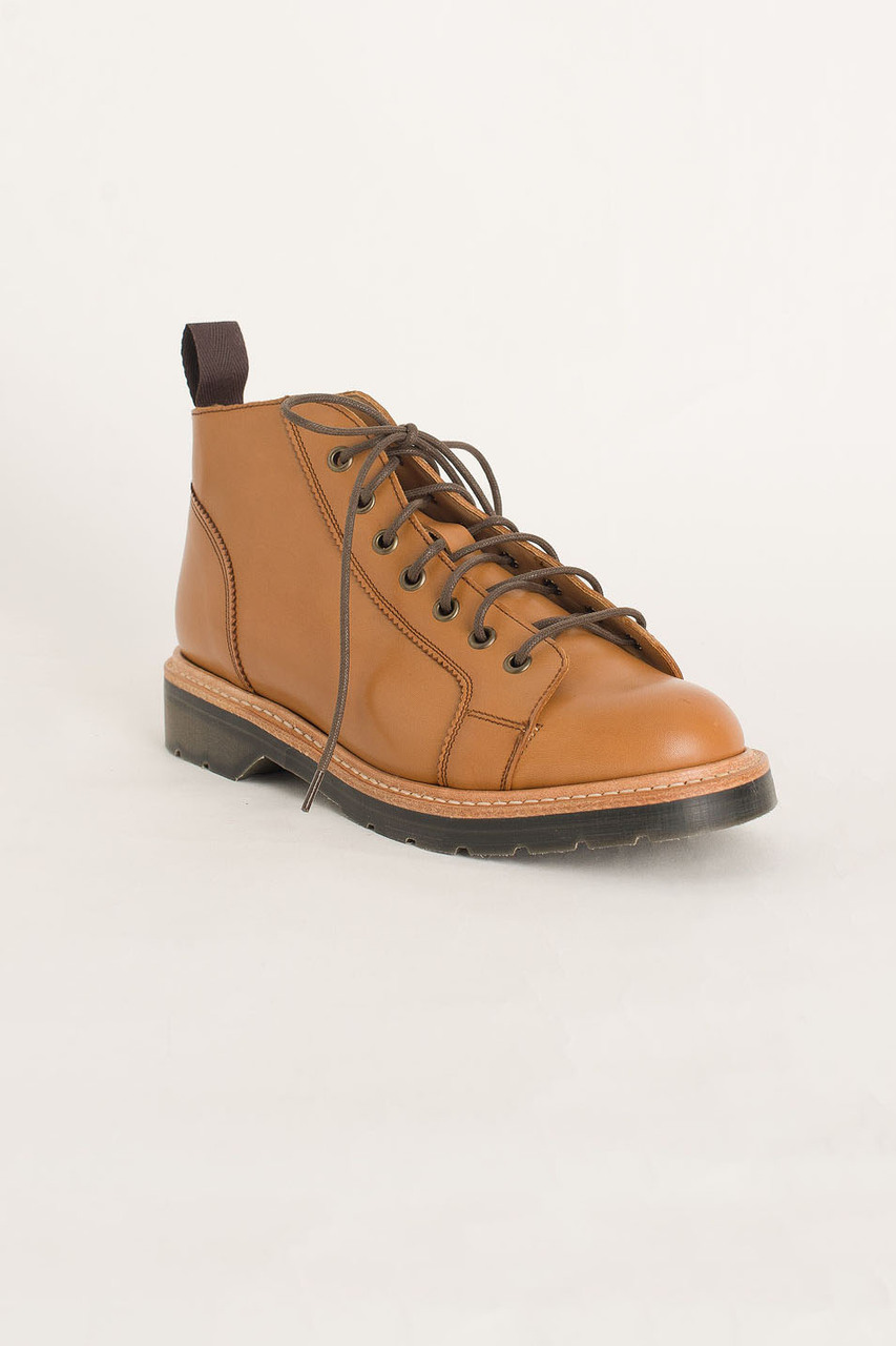 Monkey Boot (Made In England), Caramel / Natural
