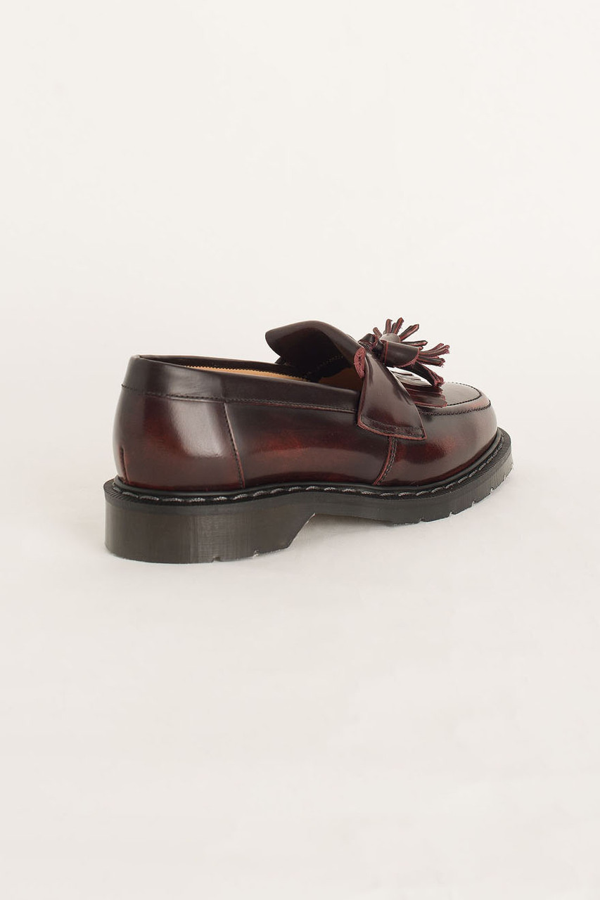 Tassel Loafer (Made In England), Burgundy