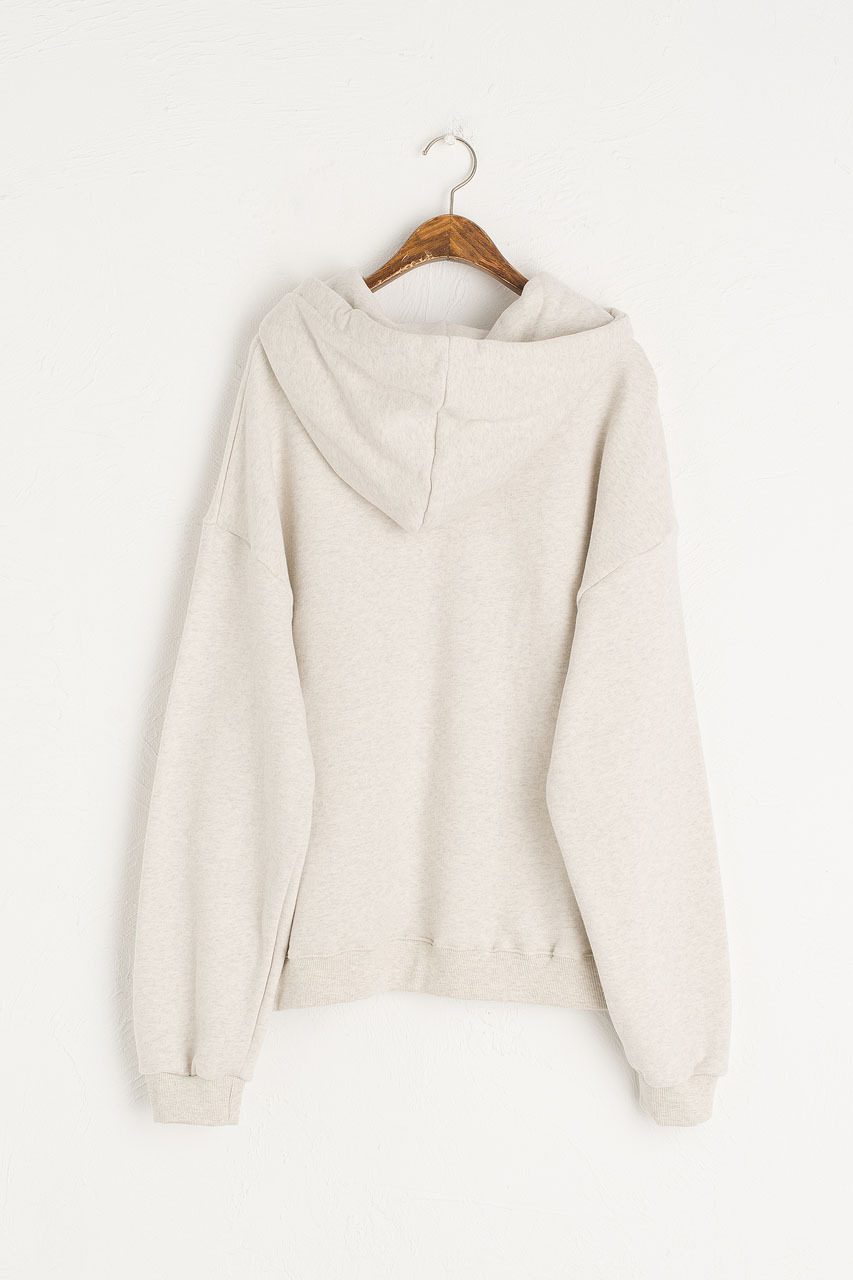 Lisette Fleece Hoody, Oat