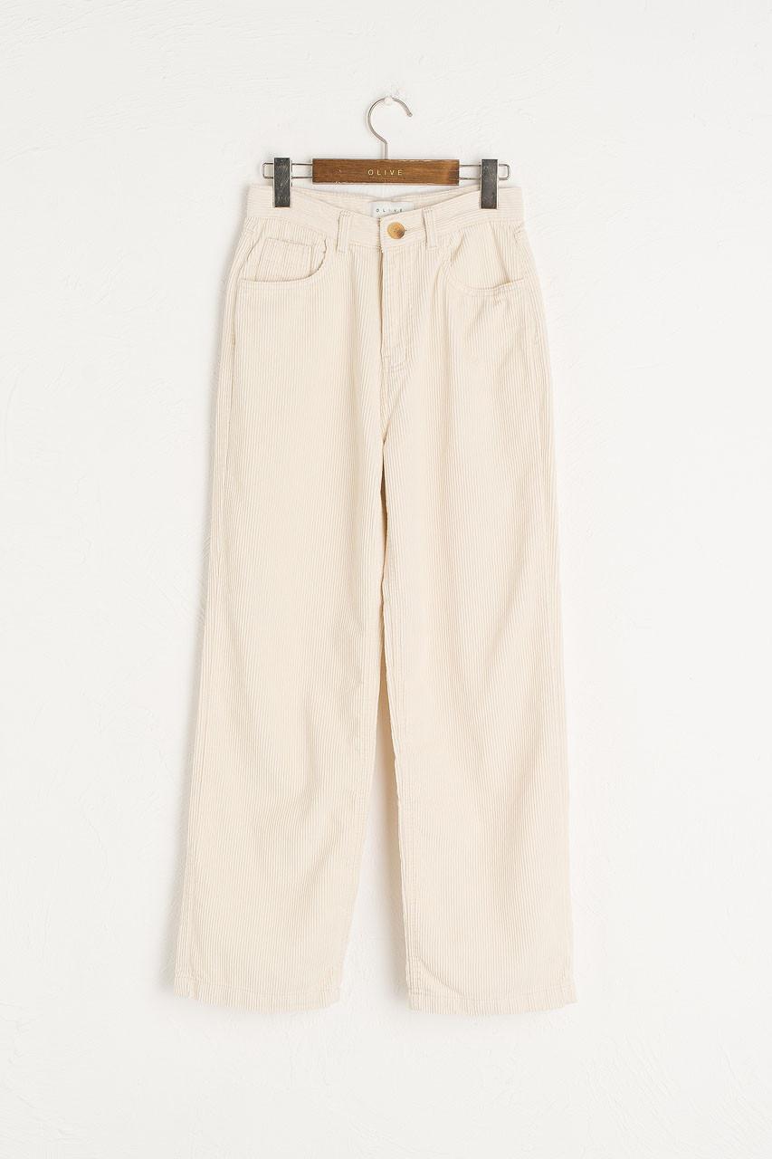 Maco Cord Pants, Cream