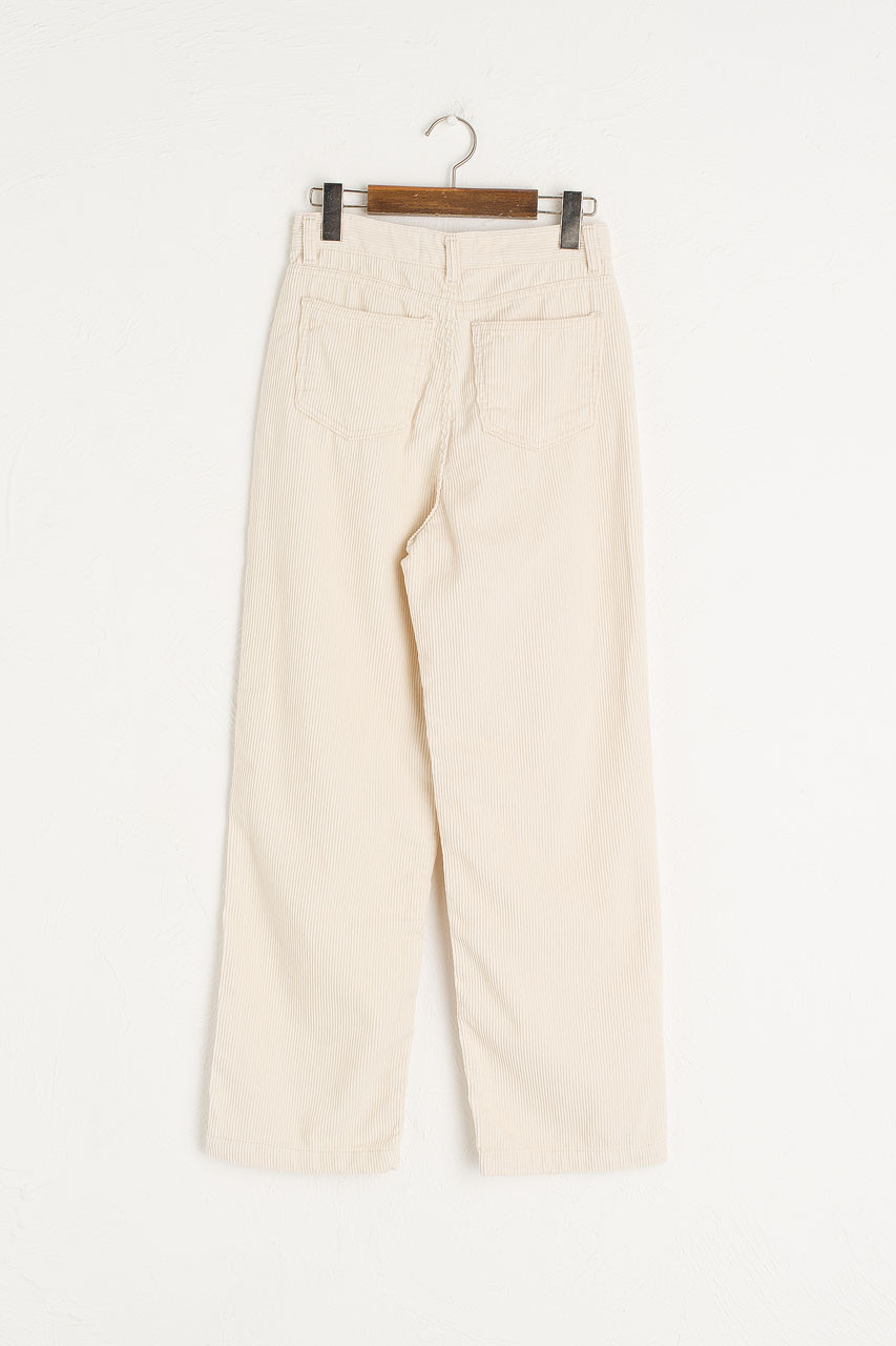 Maco Cord Pants, Cream