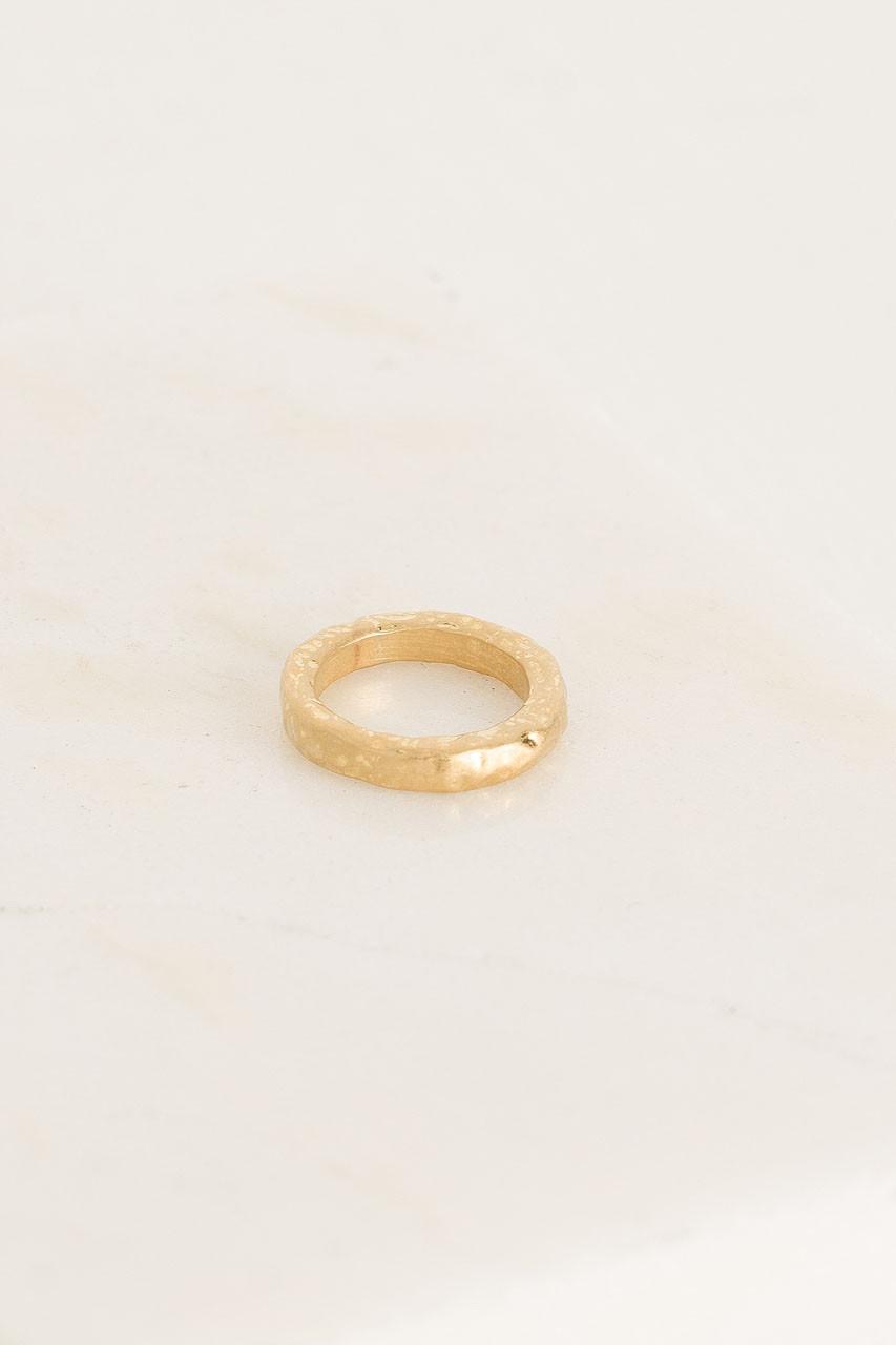 Ida Ring, Gold Plated