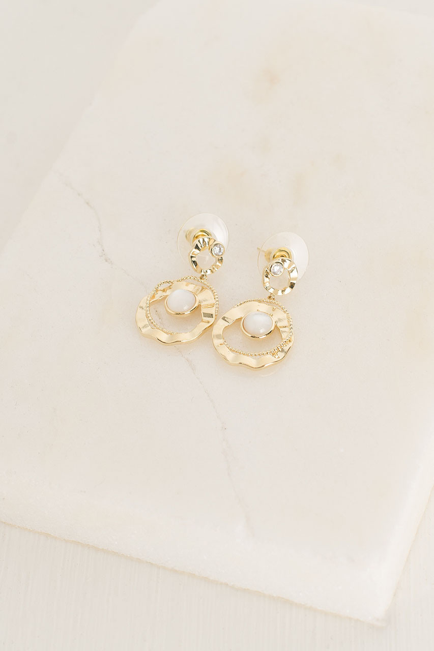 Penelopy Earrings, Gold Plated