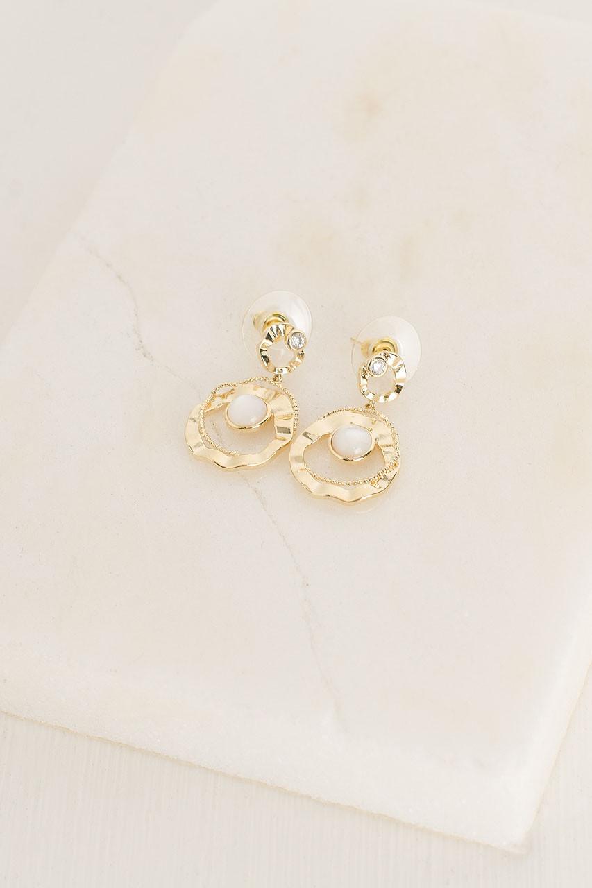 Penelopy Earrings, Gold Plated