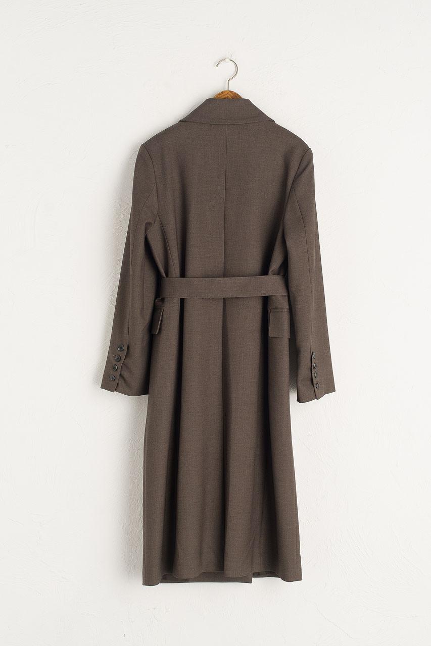 Roa Smart Long Coat, Charcoal