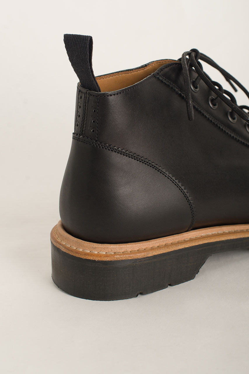 Monkey Boot (Made In England), Black / Natural