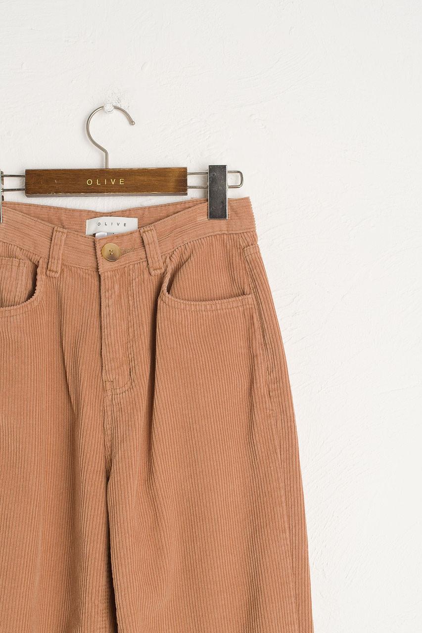 Maco Cord Pants, Beige