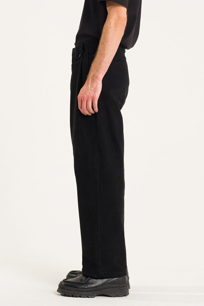 Menswear | Dalby Twill Pants, Black