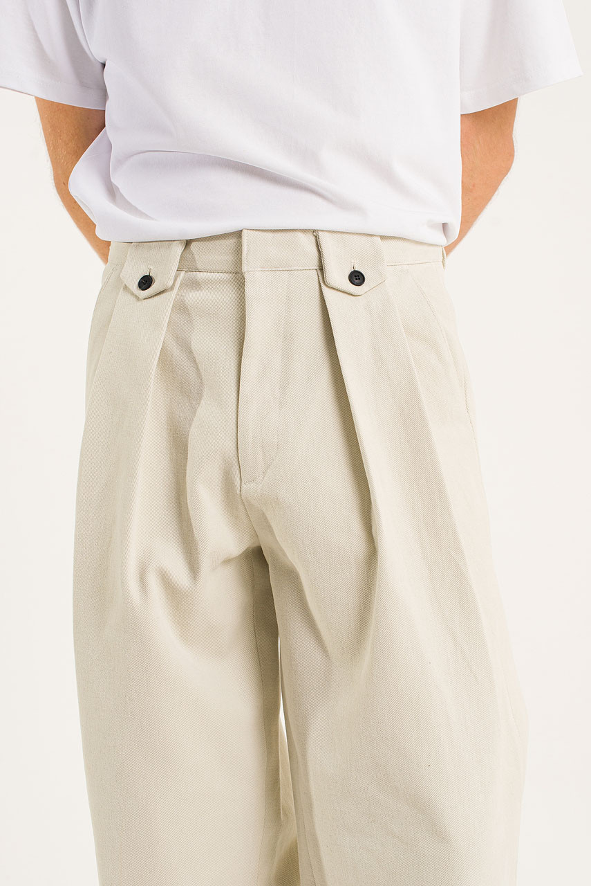 Menswear | Dalby Twill Pants, Cream