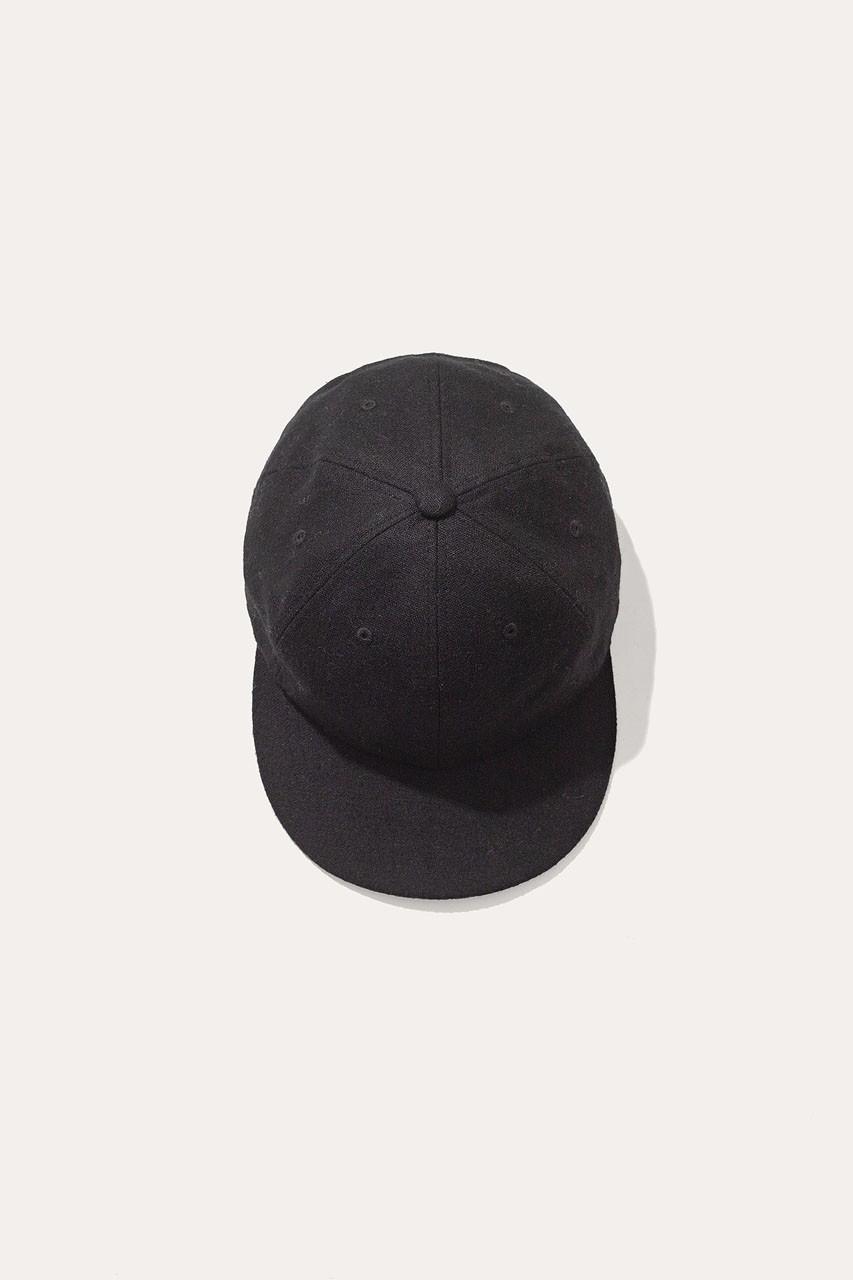 Menswear | Ebbe Cap, Black