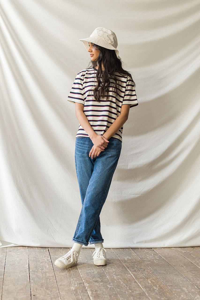 Simple Straight Jean, Mid Blue