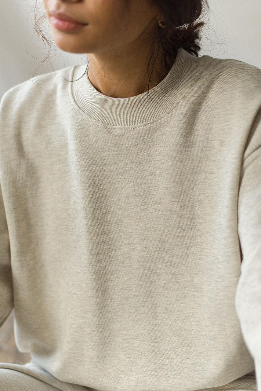 Sweatshirt & Jogger Set, Oatmeal