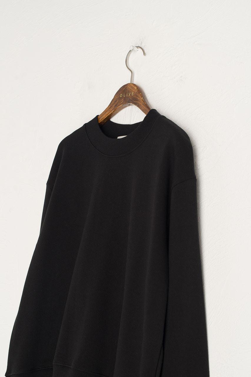 Sweatshirt & Jogger Set, Black