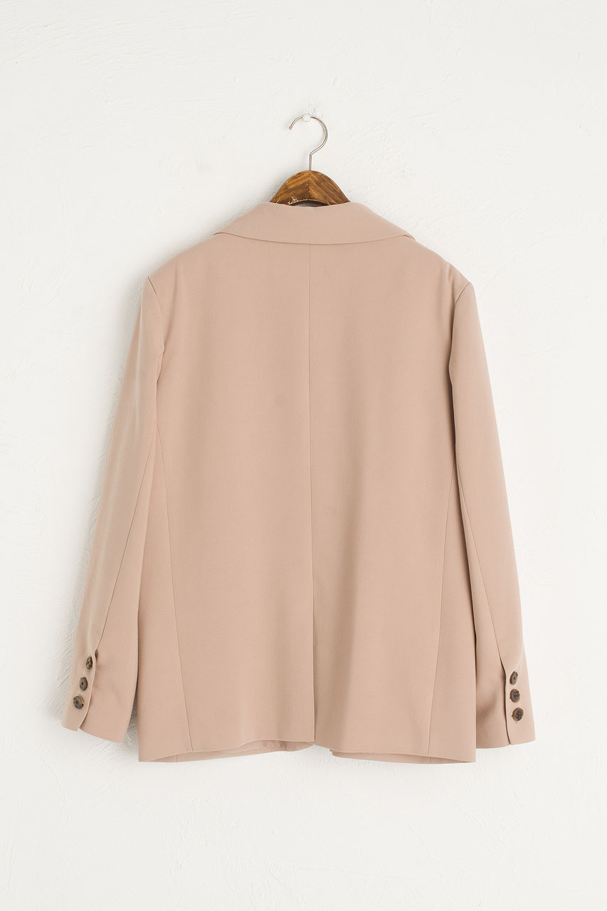 Roa Structured Jacket, Beige