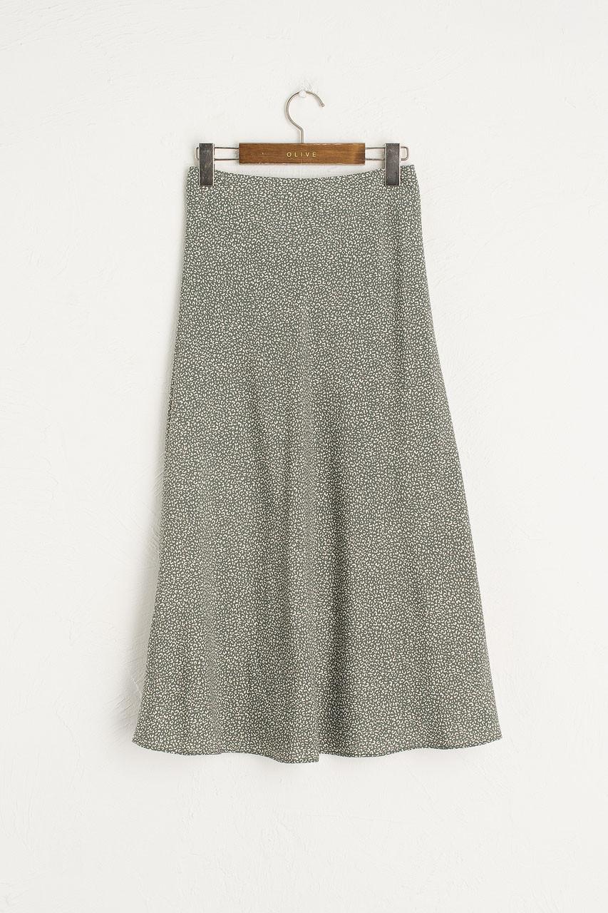 Yuha Animal Print Skirt, Sage