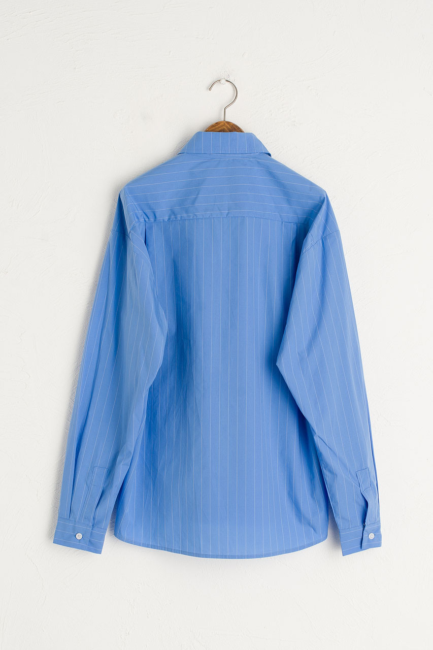 Darcey Stripe Shirt, Blue