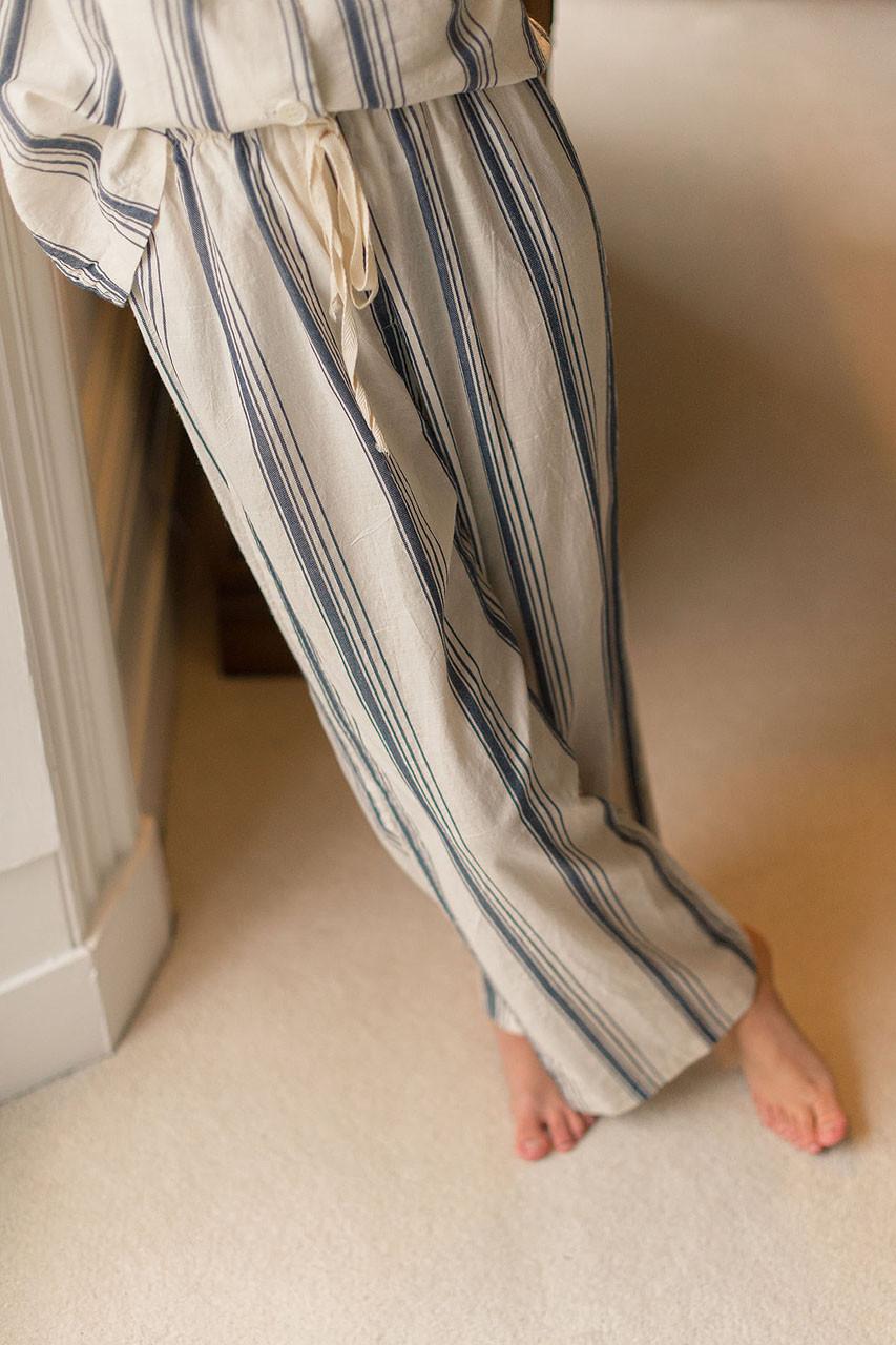Stripe Pyjamas, Navy