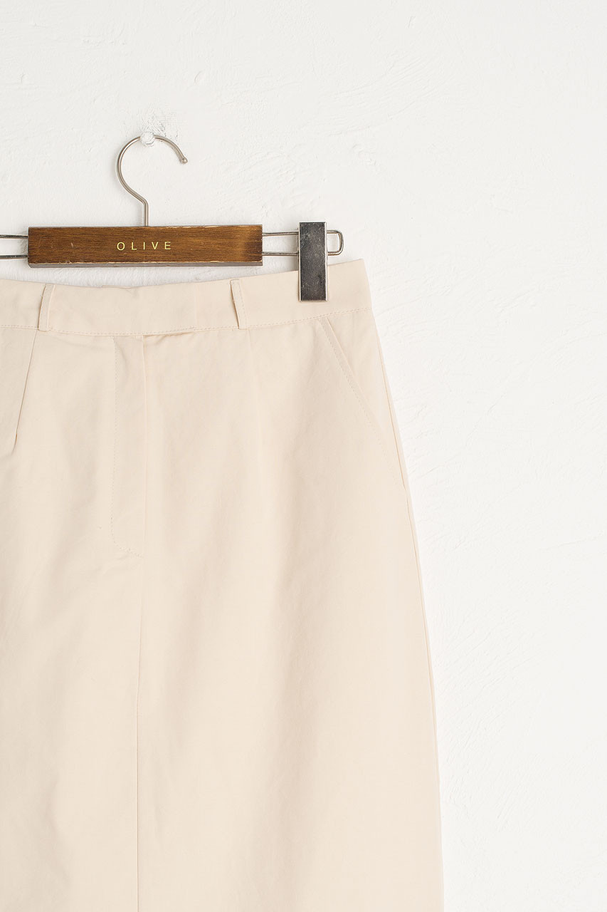 Aika Cotton Skirt, Ivory