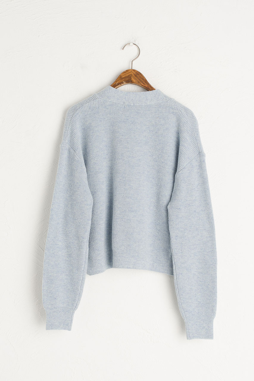 Hako Lightweight Cardigan, Blue