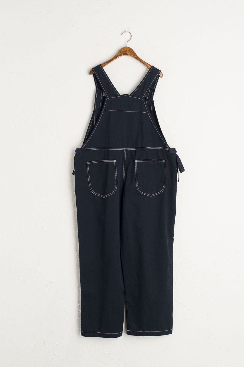 Asuka Twin Ribbon Dungaree, Navy