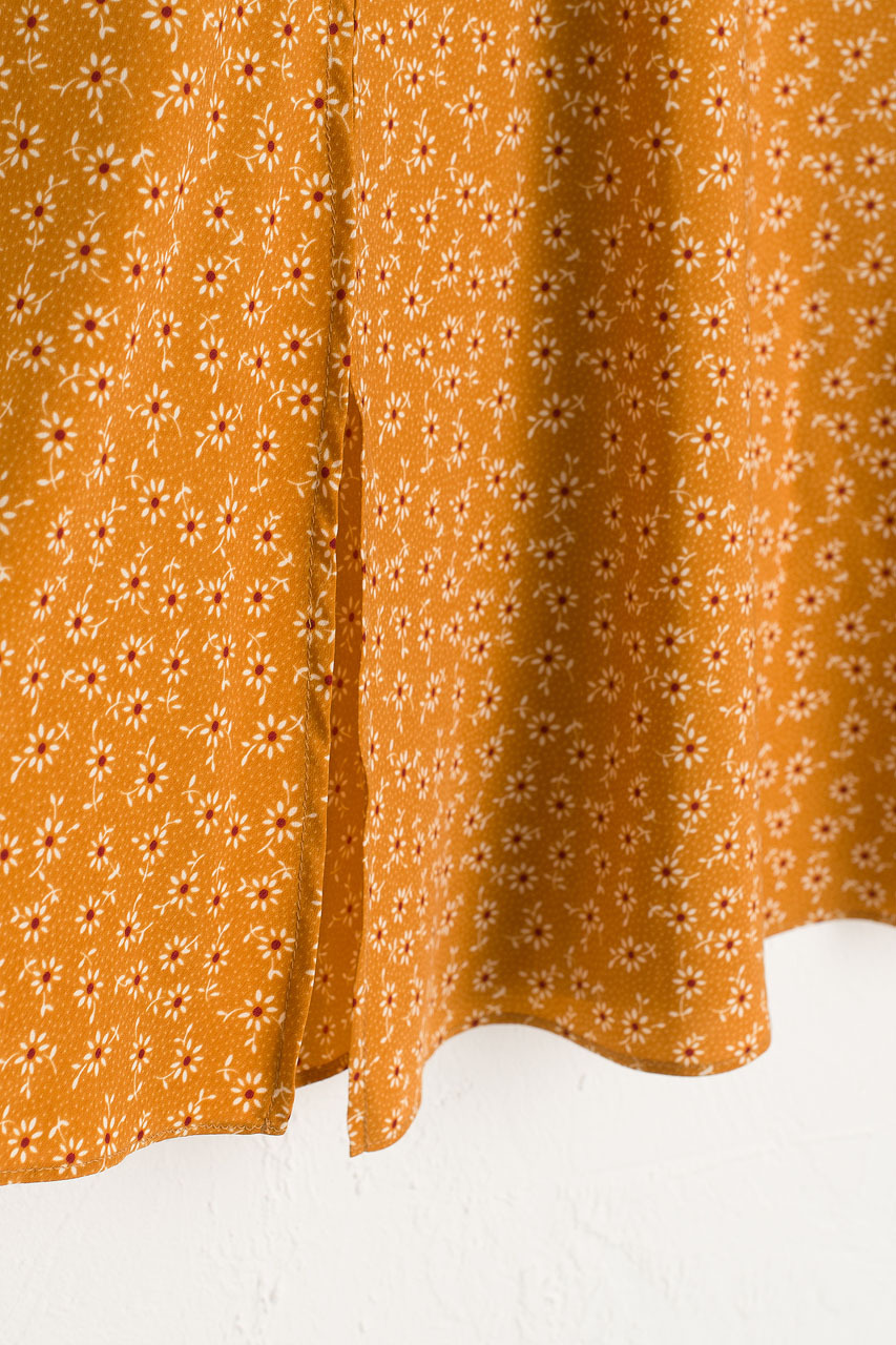 Ayaka Sunflower Skirt, Butterscotch