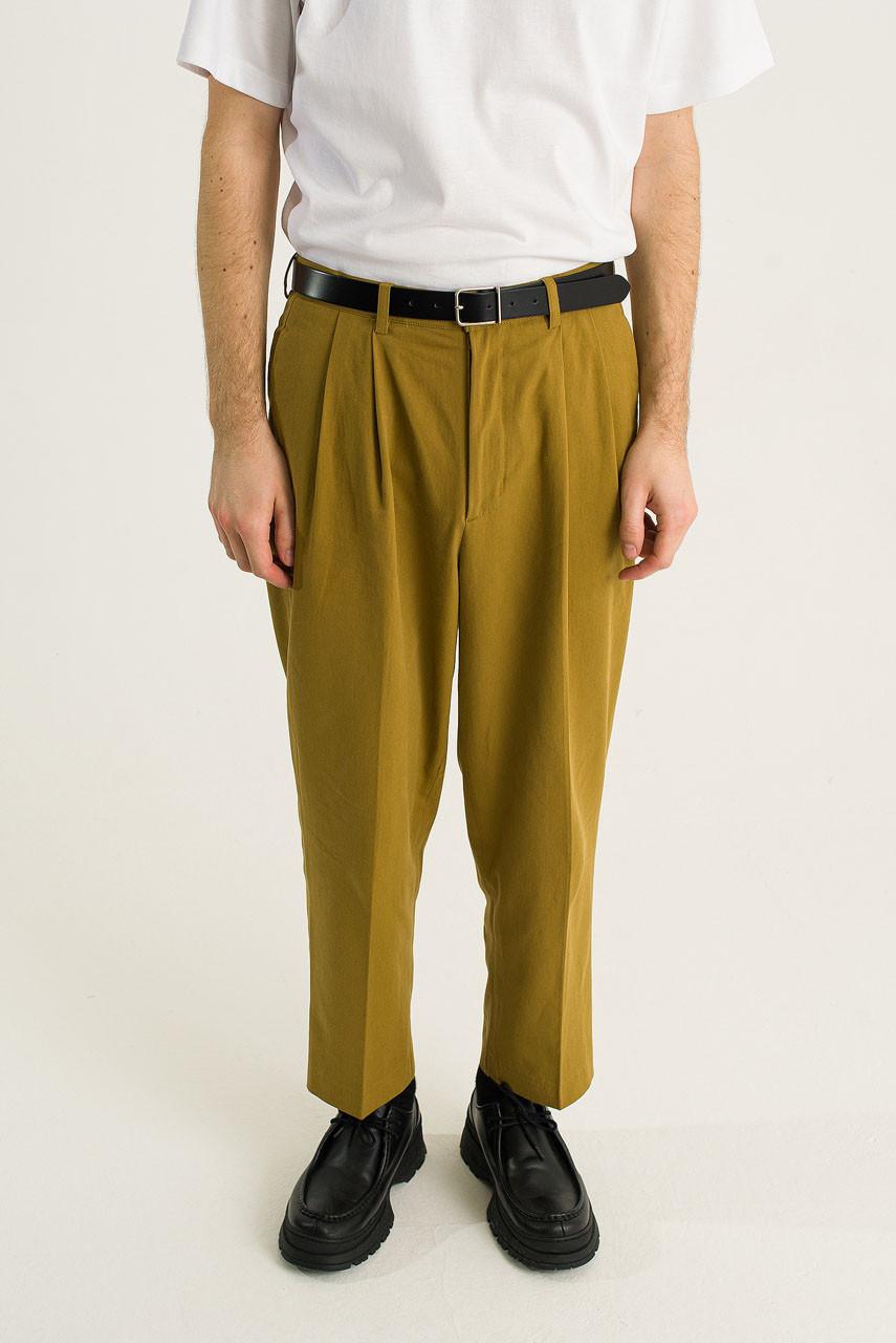 Menswear   Twill Taylor Pants, Olive