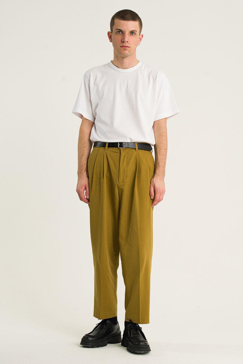 Menswear | Twill Taylor Pants, Olive