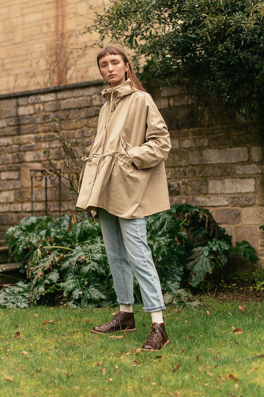 Machi Cotton Jacket, Beige