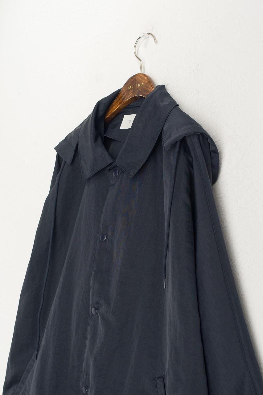 Tomo Windbreaker Jacket, Navy