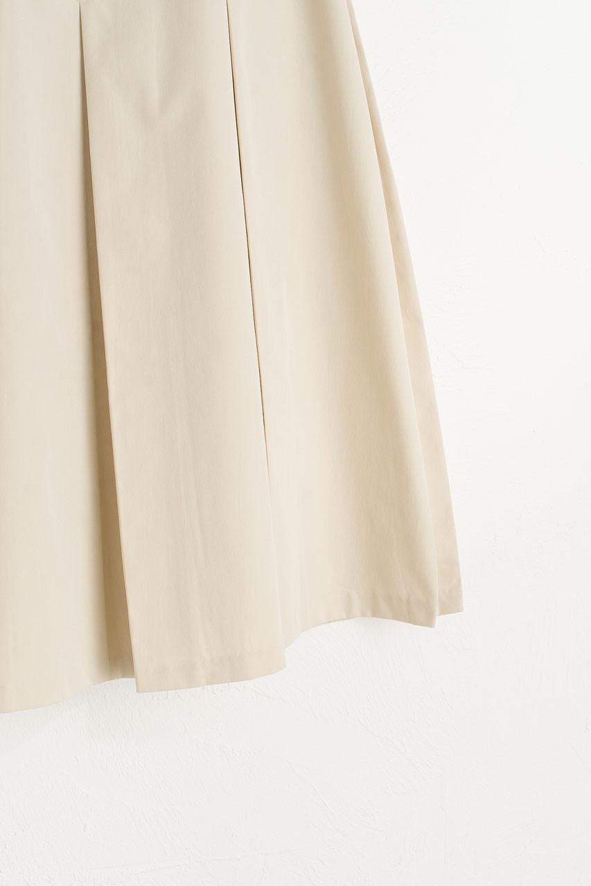Minami Pleated Skirt, Beige