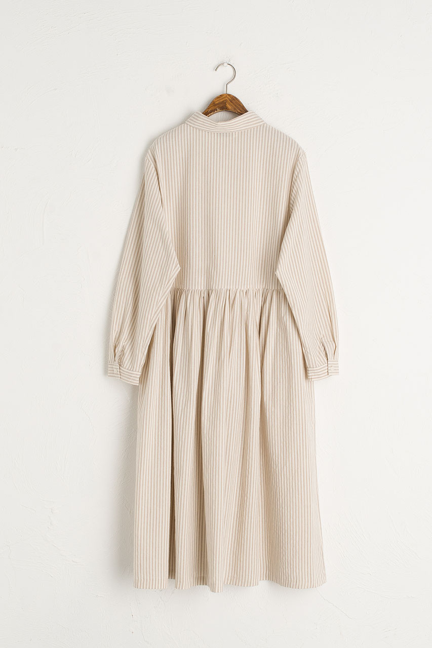Saltburn Shirt Dress, Beige