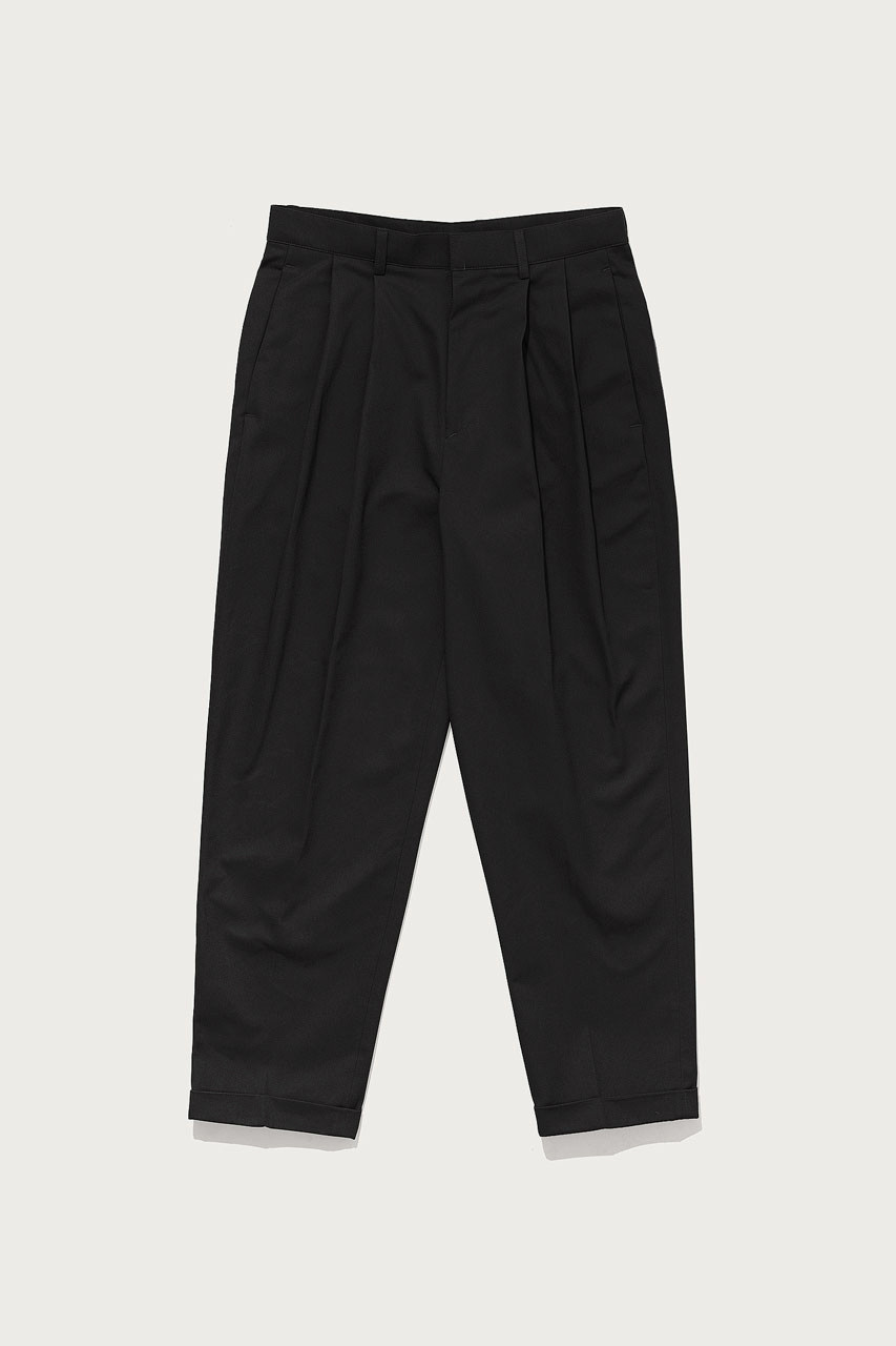 Menswear | Twill Volk Trousers, Black