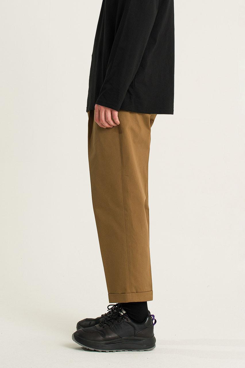 Menswear | Twill Volk Trousers, Camel