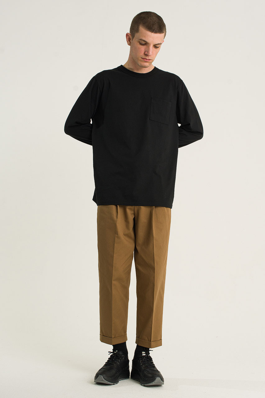 Menswear | Twill Volk Trousers, Camel
