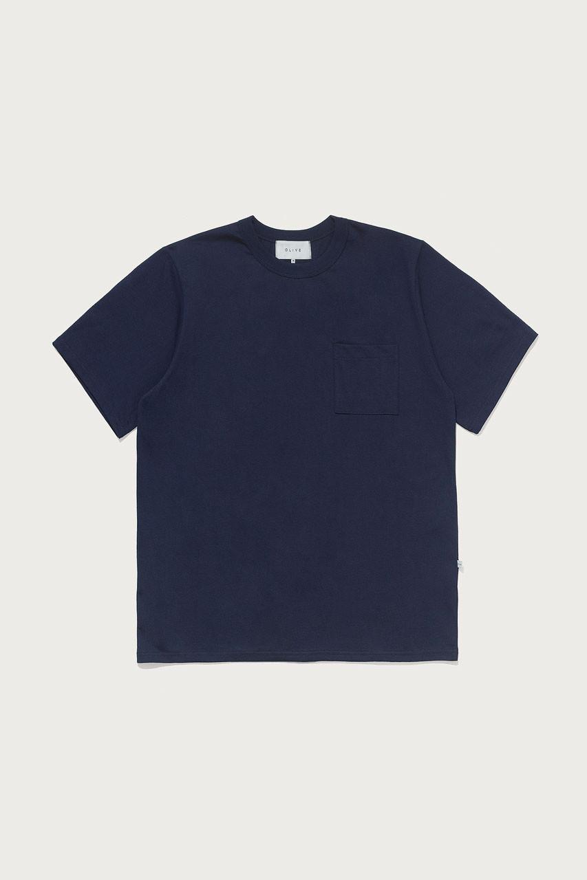 Menswear | Pocket Short Sleeve Tee, Navy