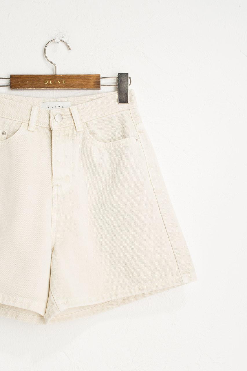 Vintage Wash Shorts, Stone Beige