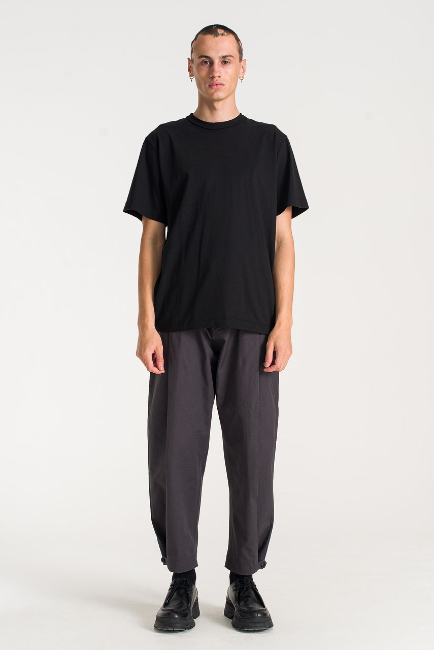Menswear | Boxy Short Sleeve Tee, Black