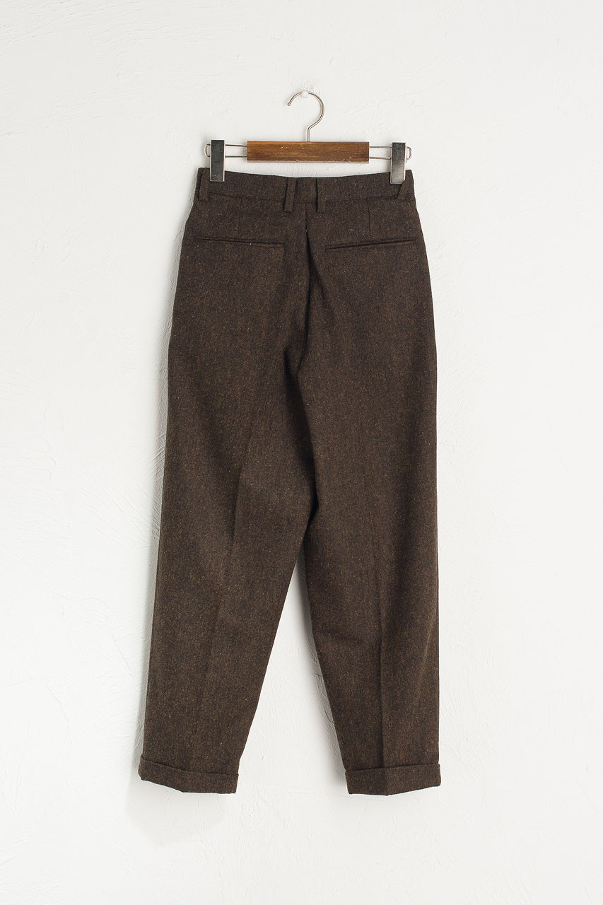 Volk Wool Trousers, Chestnut