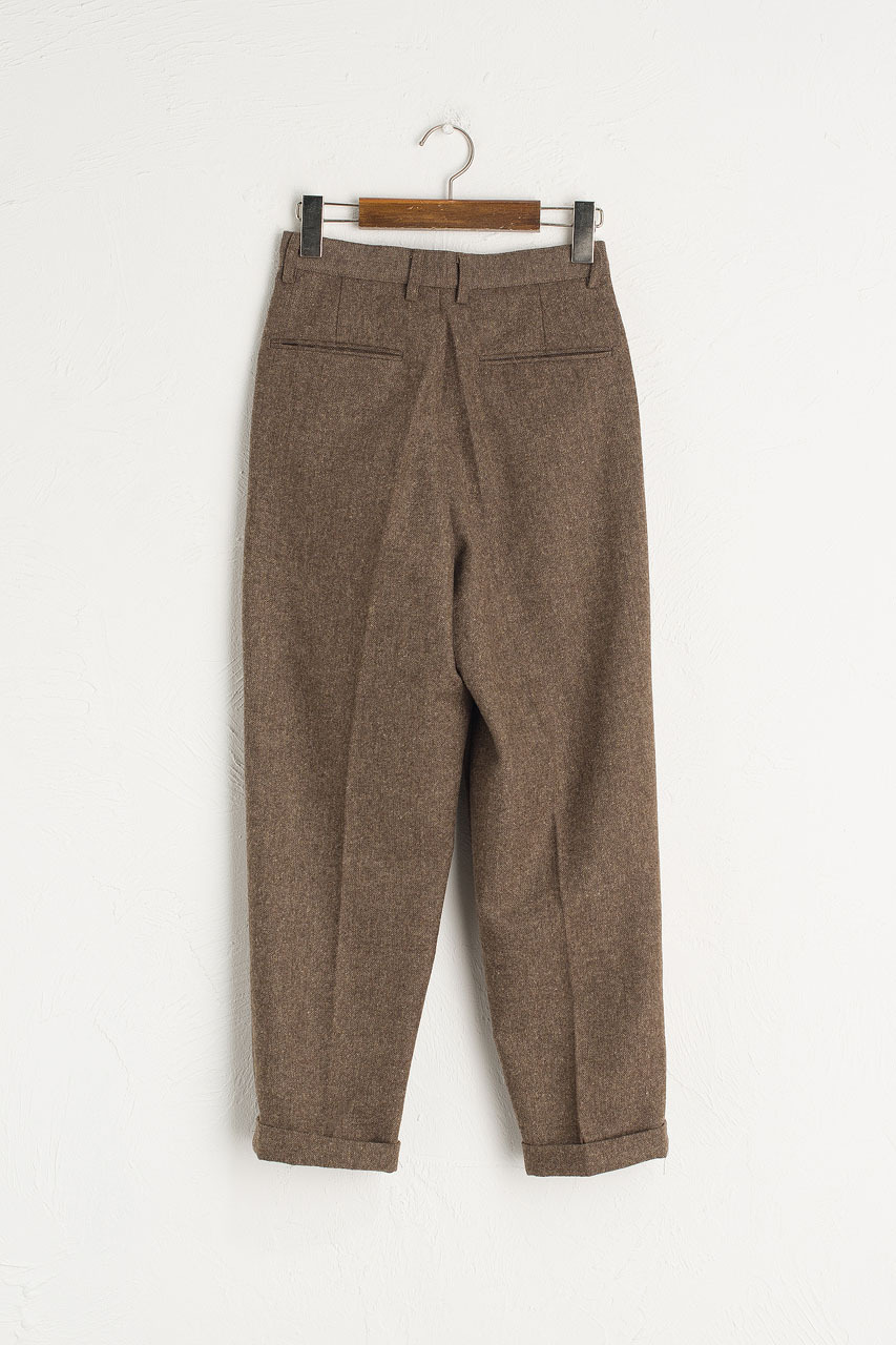 Volk Wool Trousers, Hazel