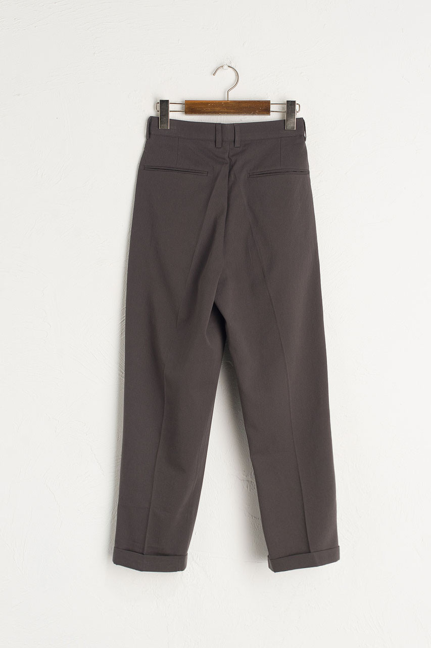 Twill Taylor Pants, Charcoal