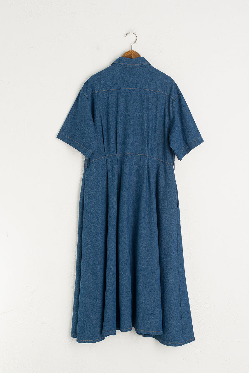 Anita Denim Dress, Blue