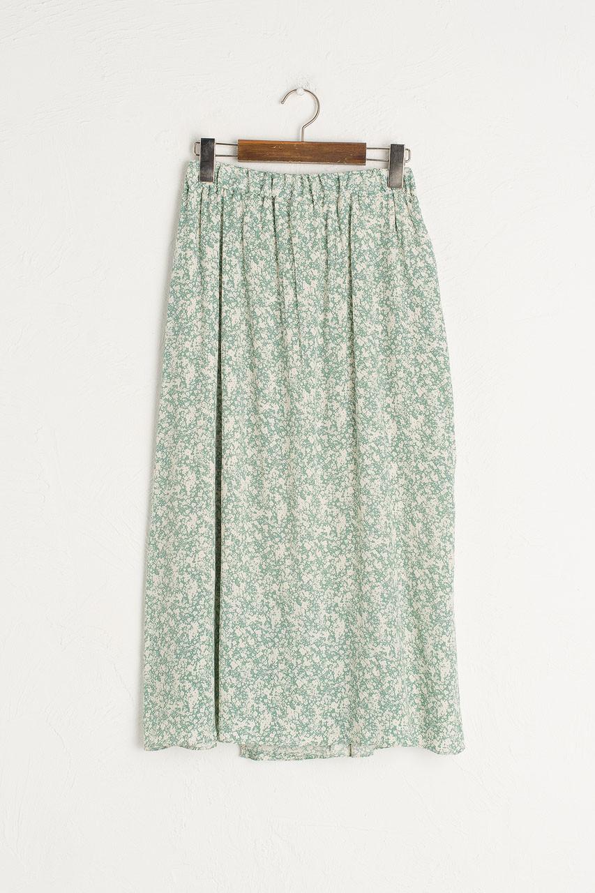 Kiko Floral Skirt, Mint