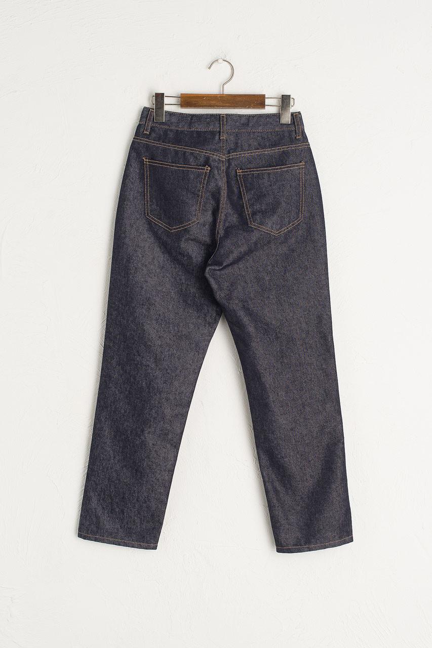 Straight Cut Jean, Indigo