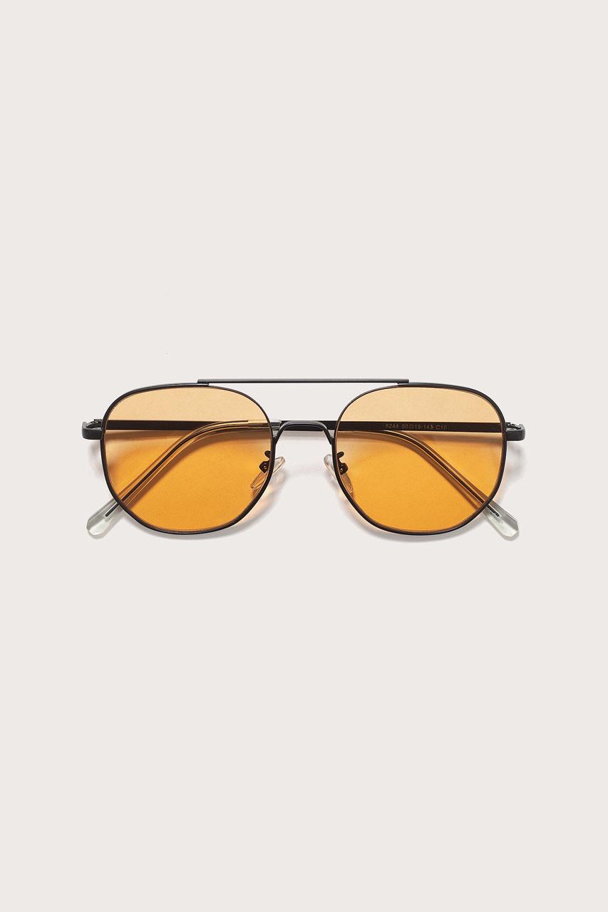 Menswear   Vice Sunglasses, Amber Lens