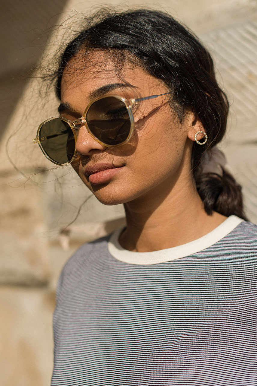La Serena Sunglasses, Yellow